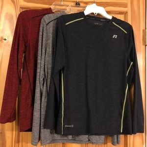 ⭐️ Lightly used boys Russell long sleeve shirts
